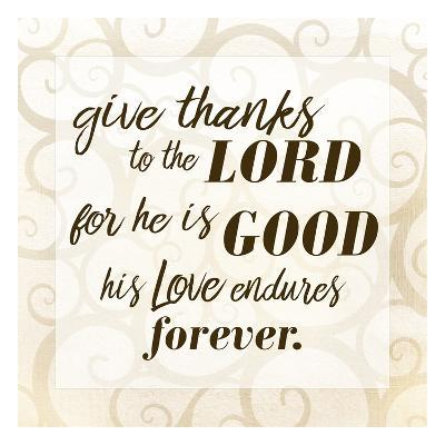 Give Thanks-Kimberly Allen-Art Print
