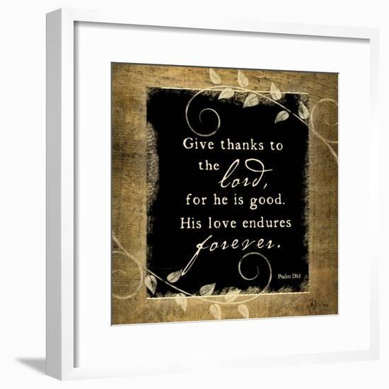 Give Thanks-Jennifer Pugh-Framed Premium Giclee Print