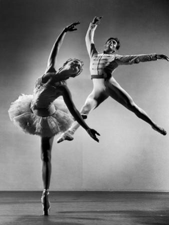 "Alicia Alonso and Igor Youskevitch in the American Ballet Theater Production of ""The Nutcracker"""
