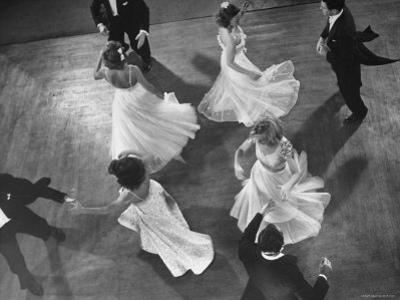 Arthur Murray Dance Instructors Dancing by Gjon Mili