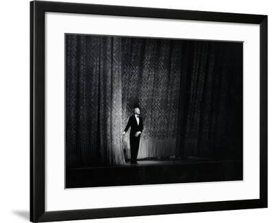 Ballet Master George Balanchine Taking a Curtain Call After Performance, New York State Theater
