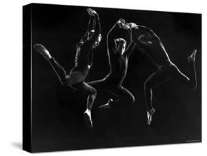 Charles Weidman, Jose Limon and Lee Sherman Dancing Centaurs at Gjon Mili's Studio by Gjon Mili