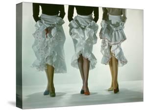 Colored Hose by Gjon Mili