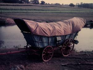 Conestoga Wagon, Type of Wagon Used by Pioneer Settlers in the American West by Gjon Mili