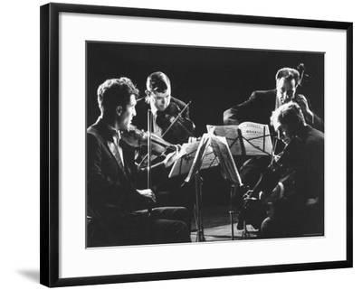 Guarneri Quartet: Arnold Steinhardt, John Daley, Michael Tree and David Soyer