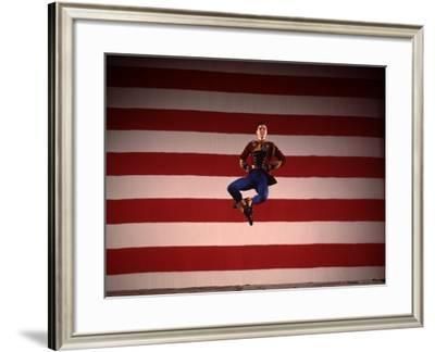 Jacques D'Amboise in New York City Ballet Production of Stars and Stripes