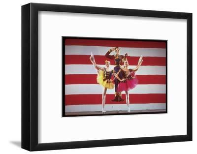 Jacques D'Amboise, Patricia McBride and Suki Schorer in Stars and Stripes