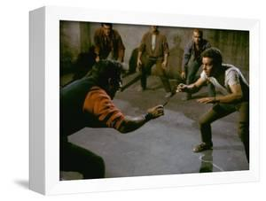 Knife Fight Scene from West Side Story by Gjon Mili