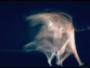 New York City Ballet Dancers in Pas de Deux from Sonata by Gjon Mili