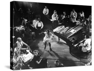 Pearl Primus Performing to Honeysuckle Rose at Gjon Mili's Studio by Gjon Mili