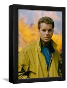 Russ Tamblyn as Riff, Gang Leader of the Jets in Scene from West Side Story by Gjon Mili