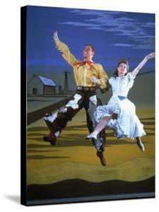 Scene from the Broadway Musical Oklahoma by Gjon Mili