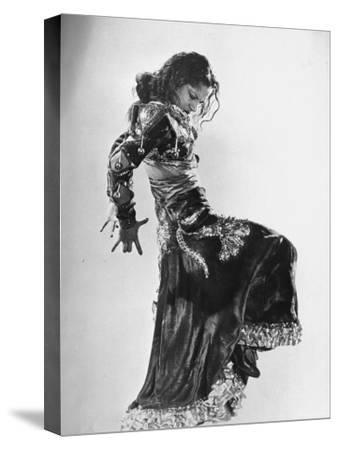 Spanish Flamenco Dancer Carmen Amaya Performing
