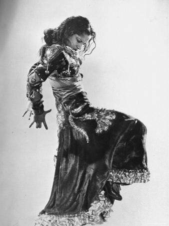 Spanish Flamenco Dancer Carmen Amaya Performing