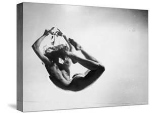 Study of Nude Female Dancer by Gjon Mili
