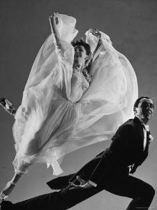 Tony and Sally Demarco, Ballroom Dance Team, Performing by Gjon Mili