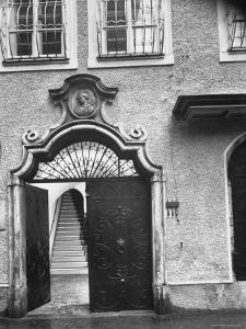 Wolfgang Amadeus Mozart's Birthplace in Salzburg by Gjon Mili