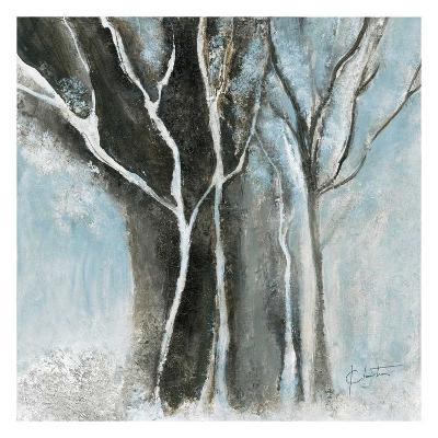 Glacial blue I-Kathleen Cloutier-Art Print