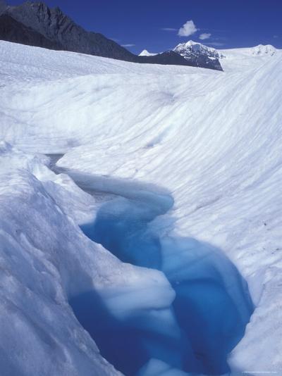 Glacial Blue Pool on Root Glacier, Alaska-Rich Reid-Photographic Print