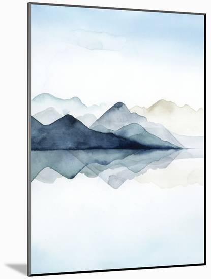 Glacial I-Grace Popp-Mounted Art Print