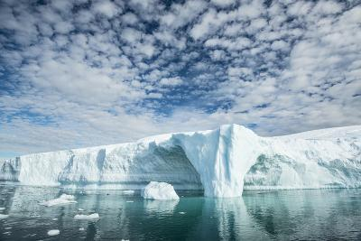 Glacial Ice of the Ilulissat Icefjord-Michael Melford-Photographic Print