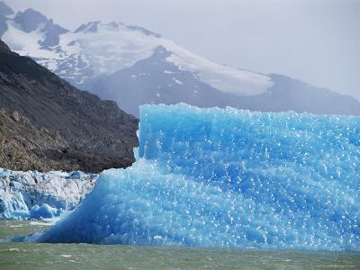 Glacial Icebergs on Lago Argentina, Patagonia, Argentina, South America-Lousie Murray-Photographic Print
