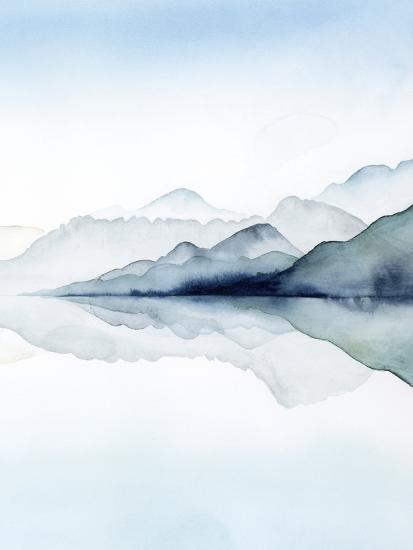 Glacial II-Grace Popp-Art Print