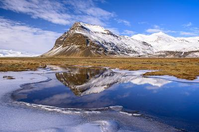 Glacial Mirror-Michael Blanchette-Photographic Print