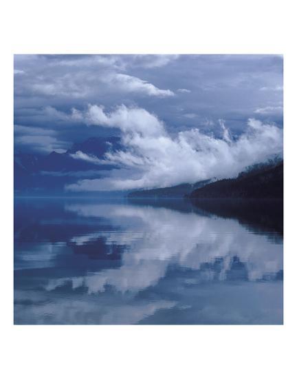 Glacial Mist-Phillip Mueller-Art Print