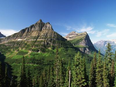 Glaciated Mountain Peaks-Neil Rabinowitz-Photographic Print