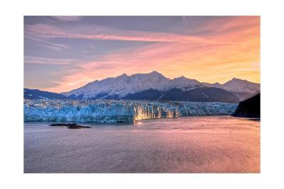 Glacier at Sunrise-Lantern Press-Art Print