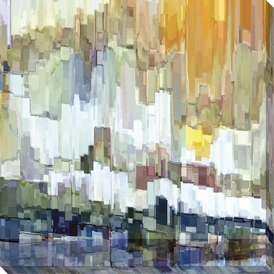 Glacier Bay II-James Burghardt-Stretched Canvas Print