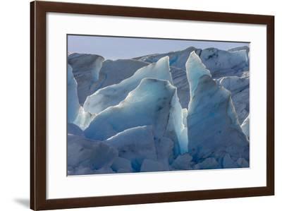 Glacier Grey. Torres Del Paine NP. Chile. UNESCO Biosphere-Tom Norring-Framed Photographic Print