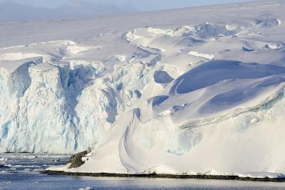 Glacier Next to the American Research and Science Base of Palmer Station on Anvers Island-Rich Reid-Photographic Print