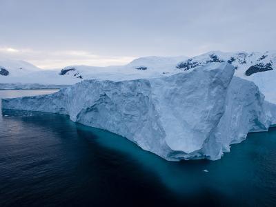 Glacier, Paradise Bay, Antarctic Peninsula, Antarctica, Polar Regions-Thorsten Milse-Photographic Print