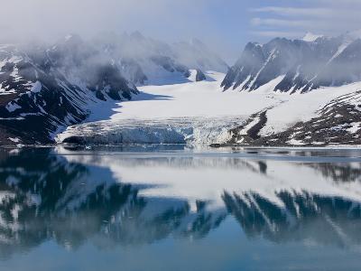 Glacier, Spitzbergen, Svalbard, Norway, Arctic, Scandinavia, Europe-Thorsten Milse-Photographic Print