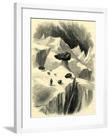 Glacier Table Switzerland--Framed Giclee Print