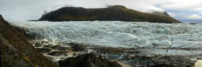 Glaciers in Vatnajokull National Park on the South Coast of Iceland-Raul Touzon-Photographic Print