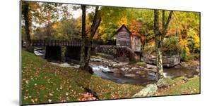 Glade Creek Grist Mill, Babcock State Park, Fayette County, West Virginia, Usa