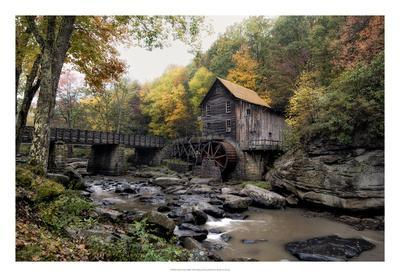 Glade Creek Mill-Danny Head-Giclee Print