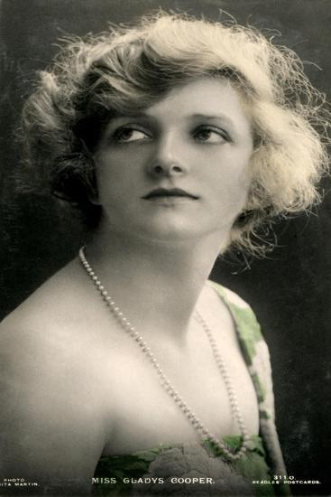 Gladys Cooper (1888-197), English Actress, Early 20th Century- J Beagles & Co-Giclee Print