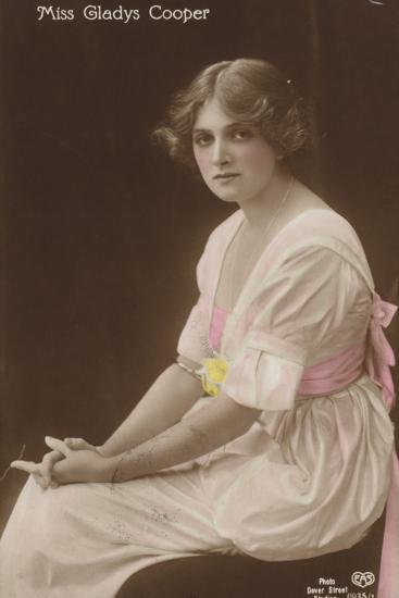 Gladys Cooper, English Stage, Film and Television Actress--Photographic Print