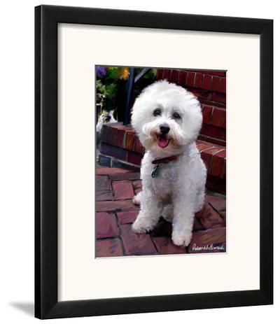 Glam Dog-Robert Mcclintock-Framed Art Print