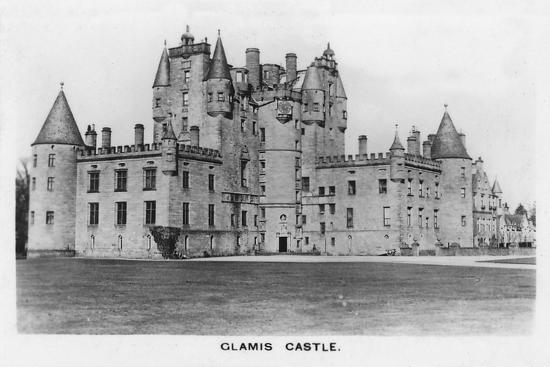 'Glamis Castle', 1937-Unknown-Photographic Print