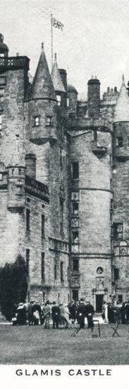 'Glamis Castle', c1937 (1937)-Unknown-Photographic Print