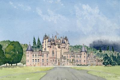 Glamis Castle, Tayside-David Herbert-Giclee Print