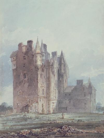 Glamis Castle-Thomas Girtin-Giclee Print