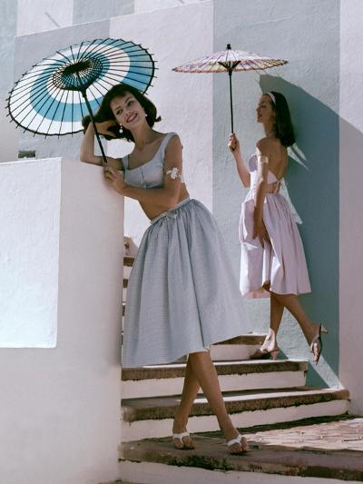 Glamour - April 1960-Frances Mclaughlin-Gill-Premium Photographic Print