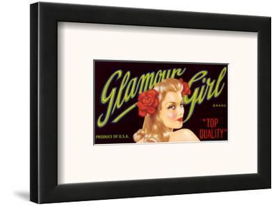 Glamour Girl--Framed Art Print