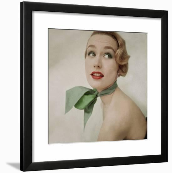 Glamour - July 1951-Clifford Coffin-Framed Photographic Print